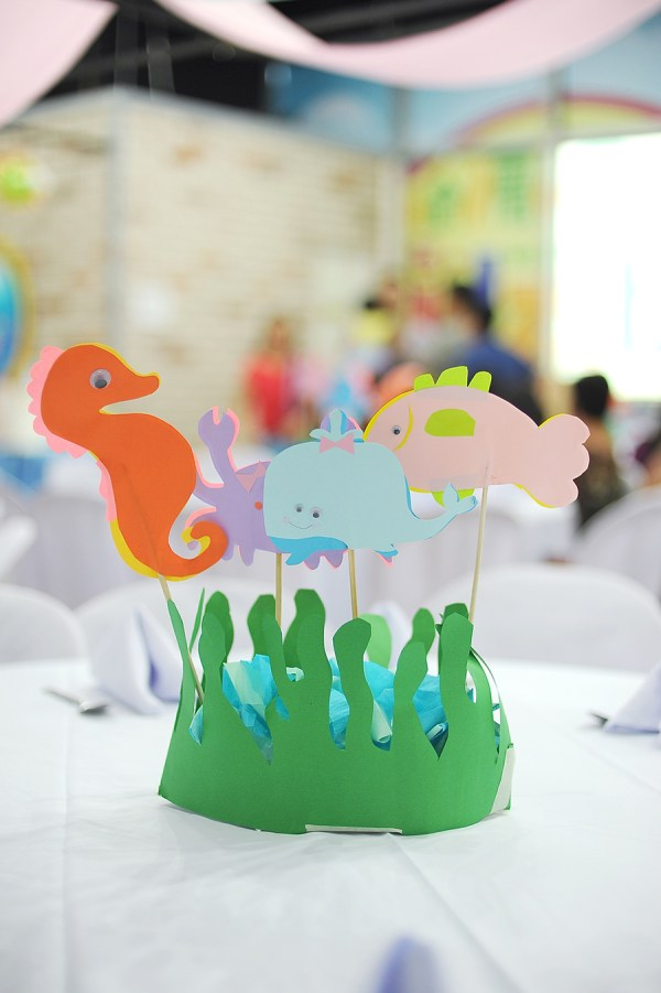 Underwater Themed Birthday Party - 12