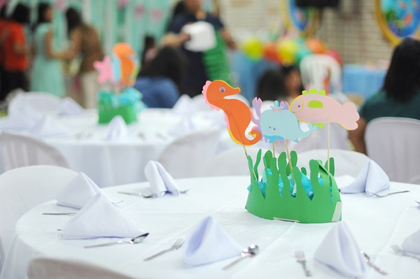 Underwater Themed Birthday Party - 21