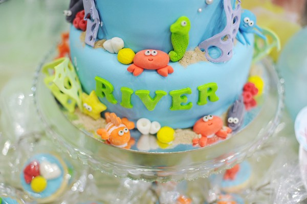 Underwater Themed Birthday Party - 26