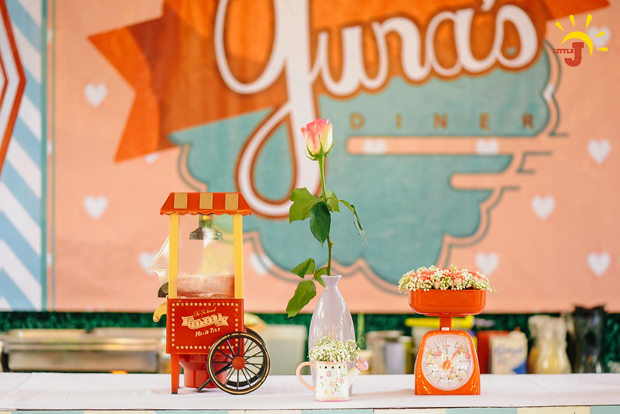Retro Kitchen Inspired Party - 06