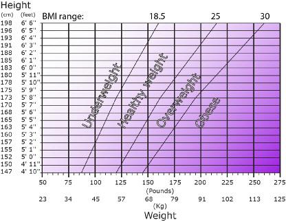 OneClickDiet - BMI Calculator - weight bmi