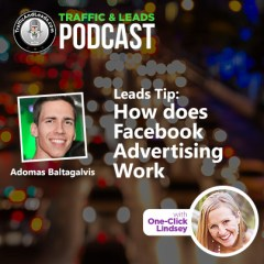Traffic and Leads Tip: How does Facebook Advertising Work