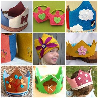 Flickr Inspiration > Make a felt crown
