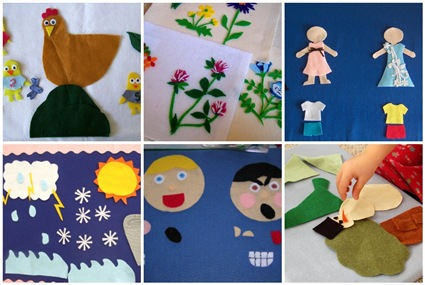 Flickr Inspiration: Make a Feltboard