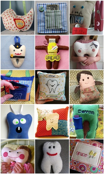 Flickr Inspiration > Make a Tooth Fairy Pillow