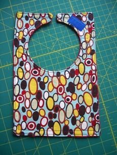 Cereal Box Bib Tutorial