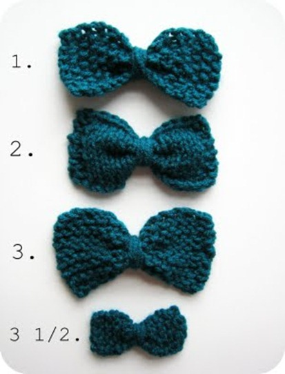 bowtie knitting pattern cornflower blue studio