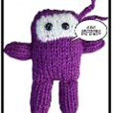 purple stitch ninja knitting pattern craftsy
