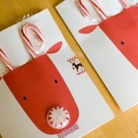 DIY Reindeer Candygram