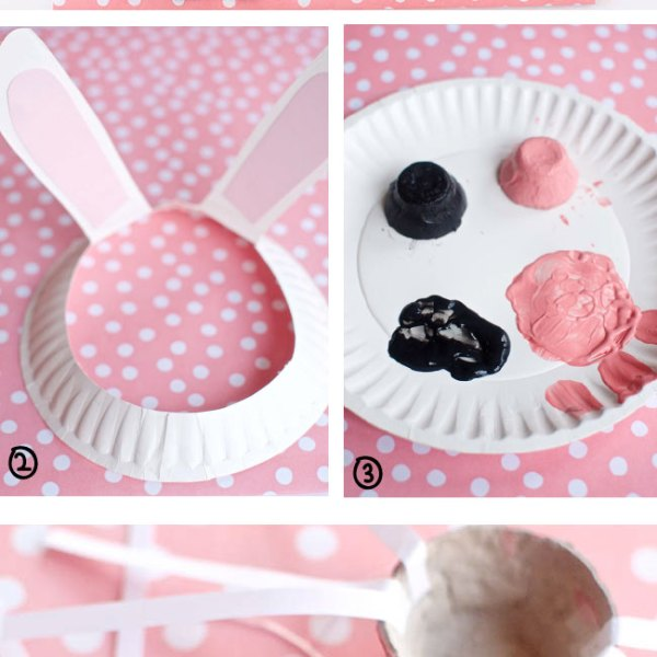 Bunny Ears and Nose Kids Craft