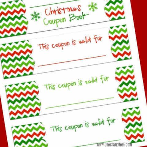 Free Christmas Coupon Book Printable - Homemade Christmas Coupons