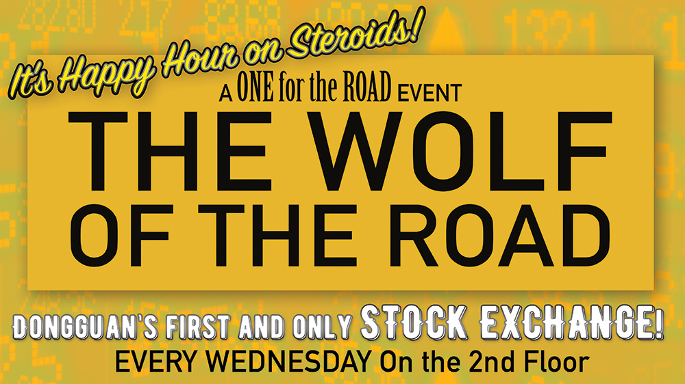Who will be the Wolf of THE ROAD?