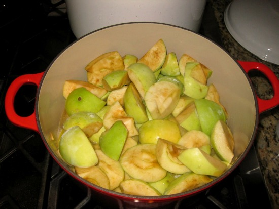 how to make apple butter