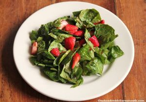 Recipe Strawberry and Spinach Salad