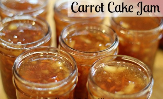 Carrot Cake Conserve Recipe — Dishmaps