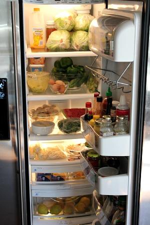 inside of the refrigerator