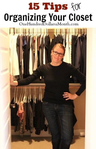 15 Tips for Organizing Your Closet