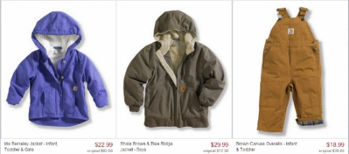 carhart clothing for kids