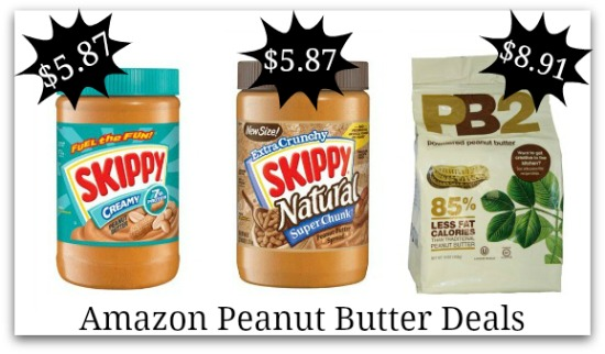 deals on peanut butter