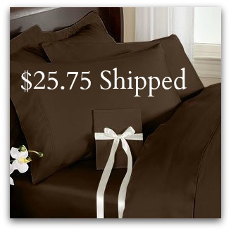 Elegance Linen sheet set 1500 Thread Count EGYPTIAN QUALITY