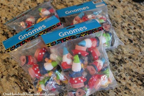 plastic gnomes