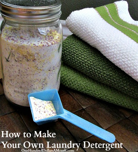 DIY DIY - How to Make Your Own Laundry Detergent