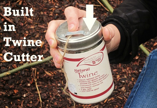 luster leaf twine built in cutter