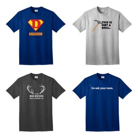 Father's Day T- Shirts