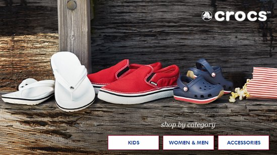 coupons for crocs