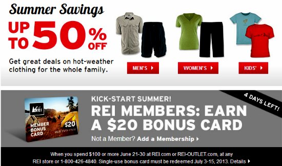 rei summer sale coupon