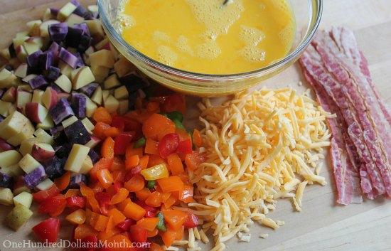 Freezer Meals - Breakfast Burritos