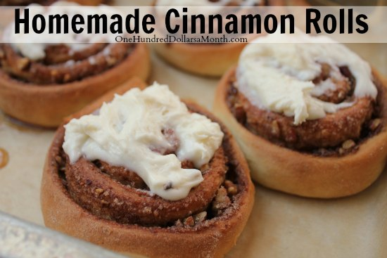 ... , this recipe for homemade cinnamon rolls is out of this world