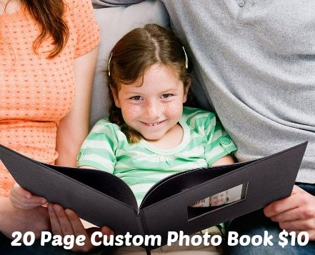 custom photo book photo bin