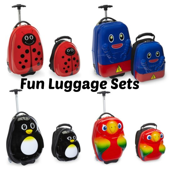 ladybug luggage