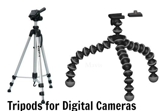 tripods for digital cameras