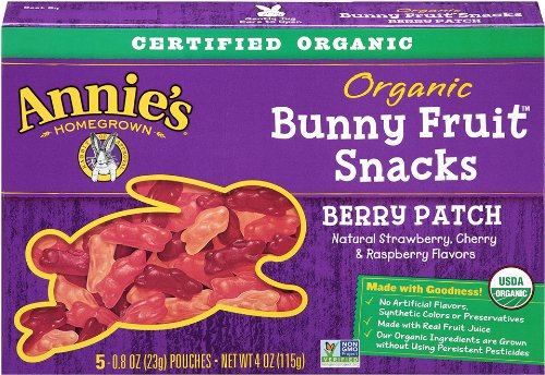 Annie's Homegrown Berry Patch Organic Bunny Fruit Snacks
