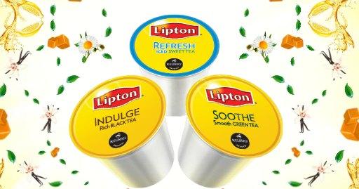 Lipton Tea free K-Cup Sample