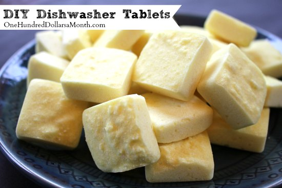 DIY Dishwasher Tablets