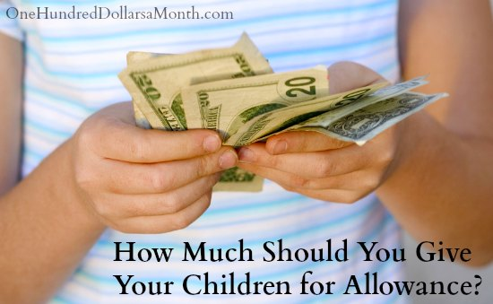 How Much Should You Give Your Children for Allowance