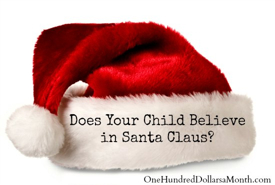 Does Your Child Believe in Santa Claus