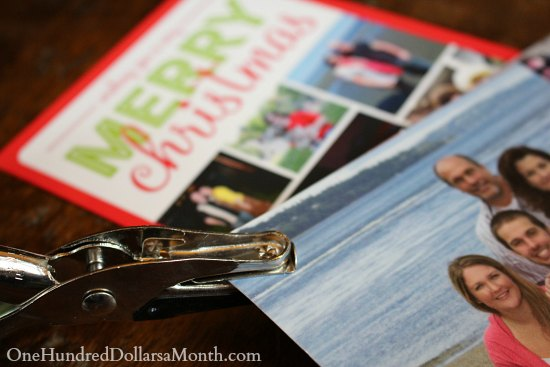 How to Organize Your Christmas Cards