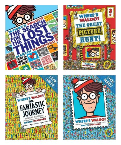 Where's Waldo Books
