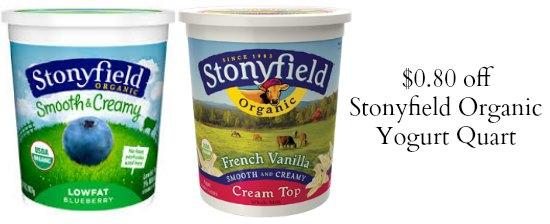stonyfield yogurt coupons