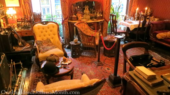 221B Baker Street Sherlock Holmes Museum
