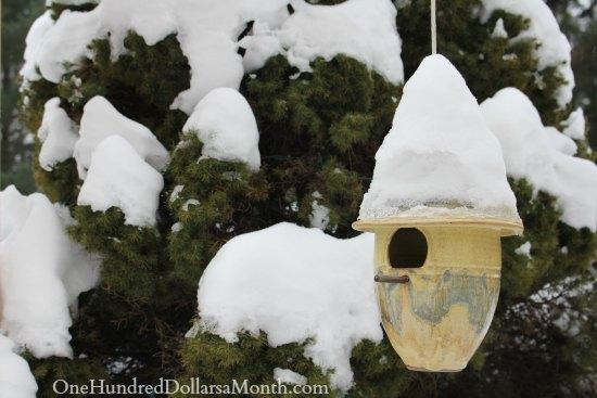 pottery bird house mornings with mavis