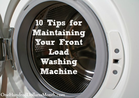 10 Tips for Maintaining Your Front Load Washing Machine