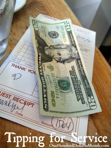 Tipping for Service