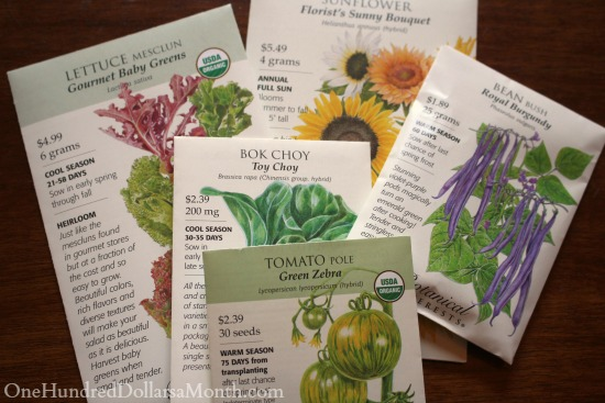 botanical interests seed packet
