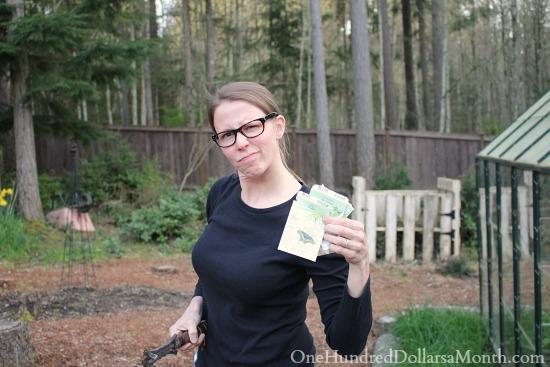 mavis butterfield one hundred dollars a month