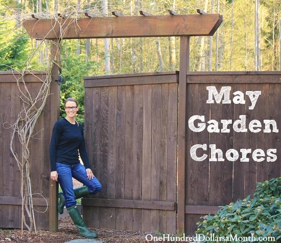 may garden chores